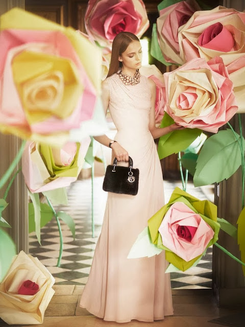 Romantic Florals Dior  by Cool Chic Style Fashion