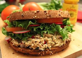 colman's msutard tuna sandwich