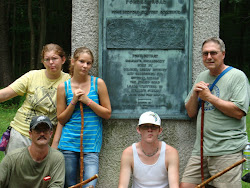 Vacation 2010;bHike down the Revolutionary War Road - Forbes Road