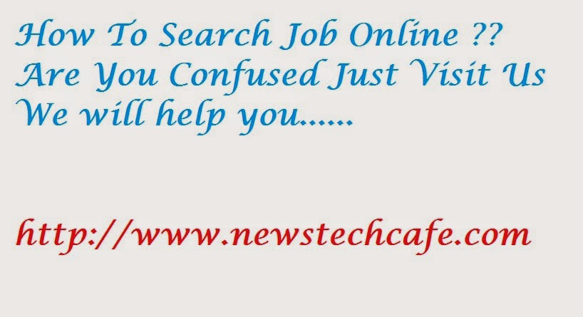 How to Search a Job Online Tips Tricks