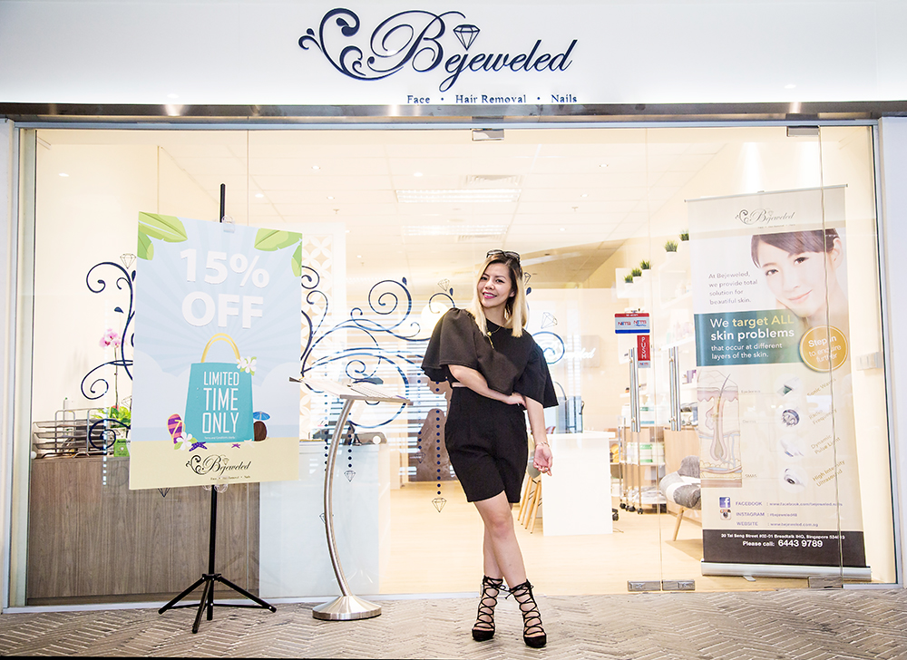 Crystal Phuong- Singapore Beauty Blogger- Bejeweled Facial Spa