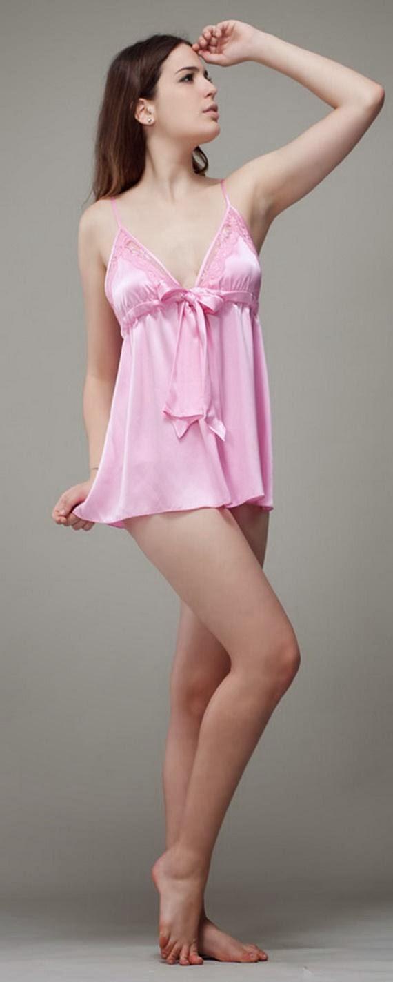 Silk+Short+Night+Wear+Nighty+Dress+For+Girls+Fashion+In+Bed018