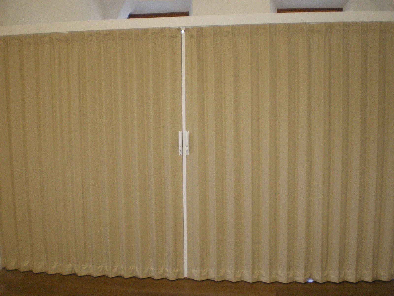 1200 #493216 Accordion Doors: Accordion Door Within A Vault image Commercial Folding Doors 29731600