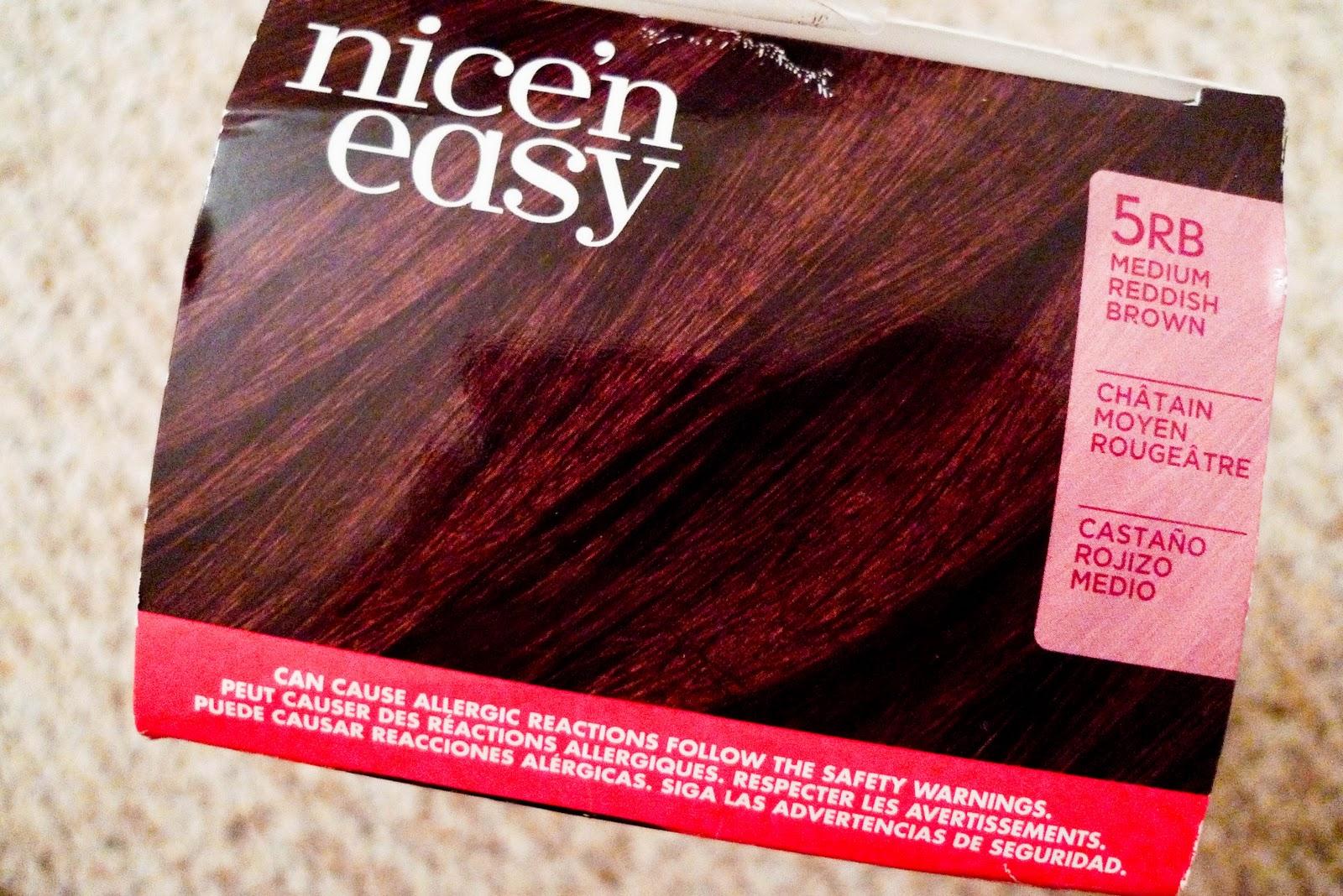 Winnietsuii New Hair Color Clairol Nicen Easy Color Blend Foam In