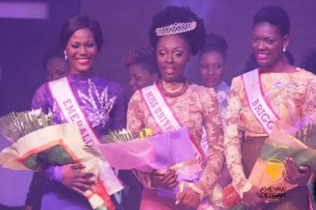 Miss Universe Ghana 2014 is Abena Appiah