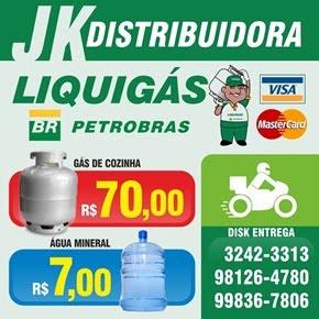 JK DISTRIBUIDORA DE GÁS -