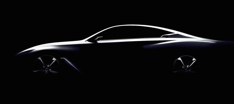 日産インフィニティが新型スカイラインクーペの原型とウワサされるコンセプトカーを公開