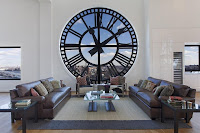The Clock Tower - Living Room