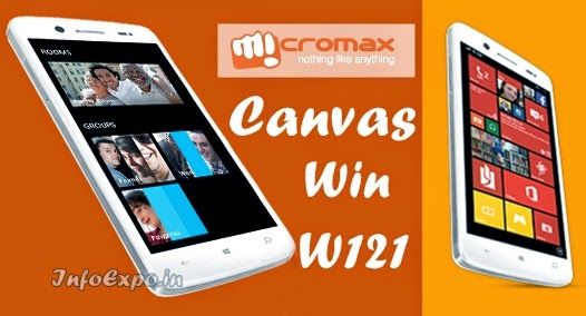 Micromax Canvas Win W121: 5 inch Windows 8.1 SmartPhone Specs and Price