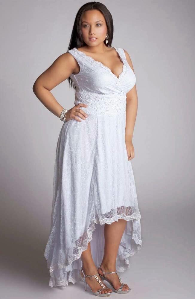 Informal Wedding Dress Short Front Long Back Design pictures hd