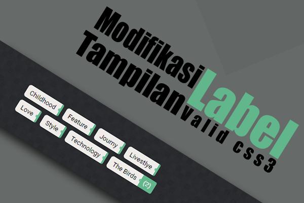 Modifikasi Widget Label dengan Counter Box Show-hide Valid CSS3