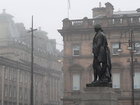 robert burns statue glasgow scotland copyright kerry dexter