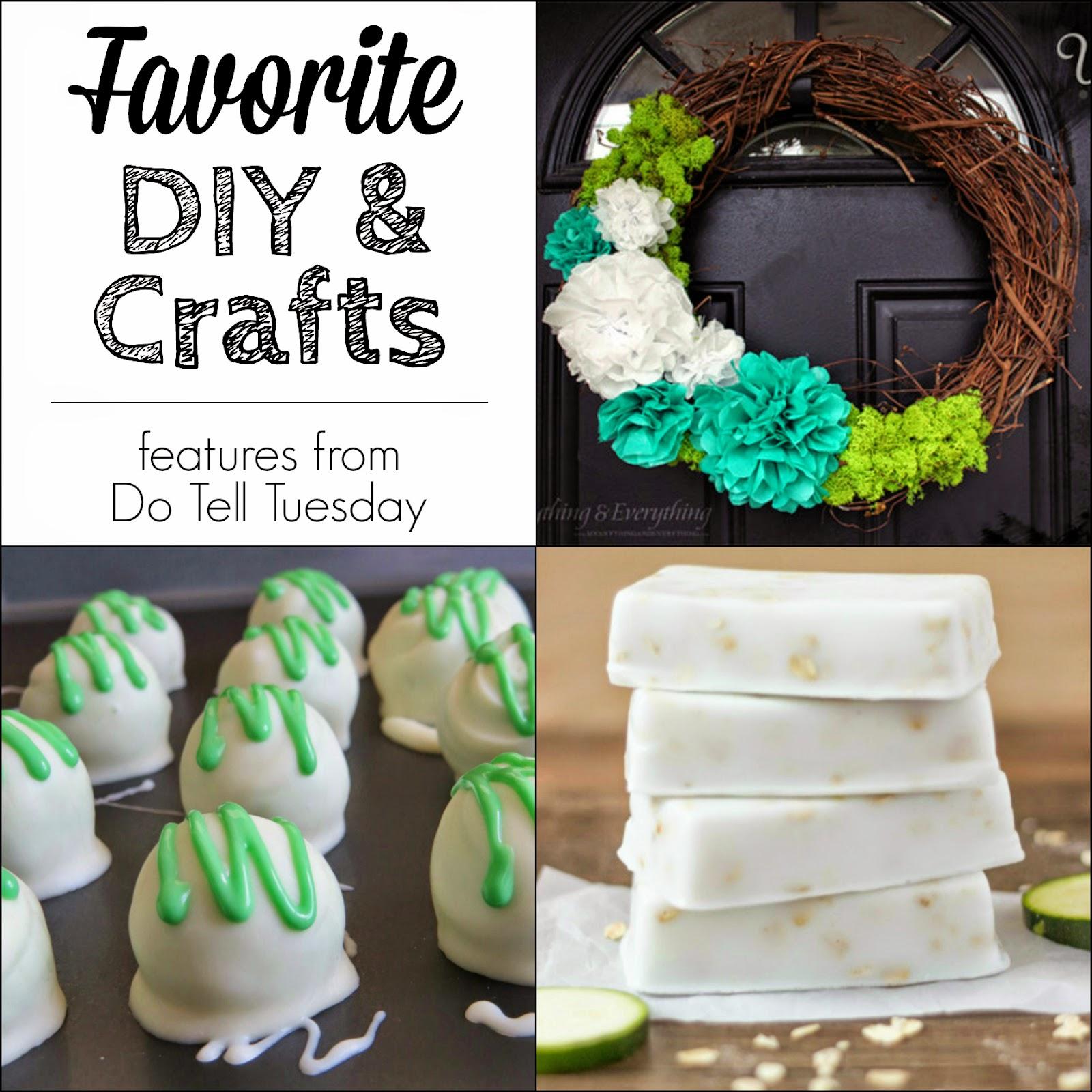 Favorite DIY & Crafts at Diane's Vintage Zest!