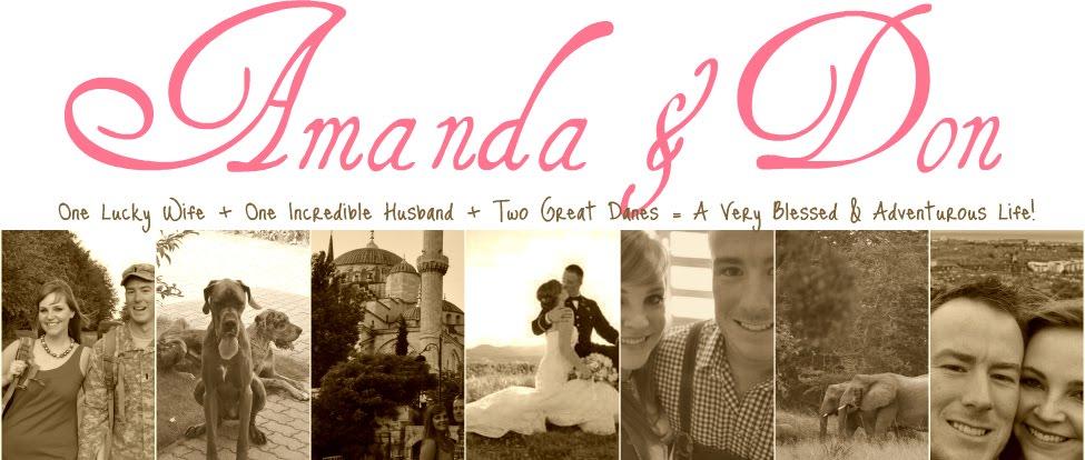 Amanda + Don