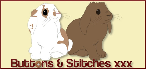 Buttons & Stitches x x x