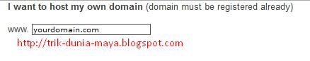 Cara Memilih Domain di 000webhost.com