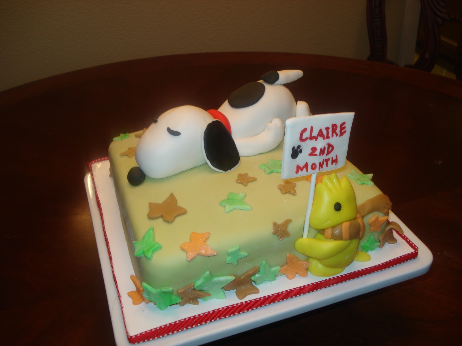 JessiCakes Project Sleeping Snoopy Cake