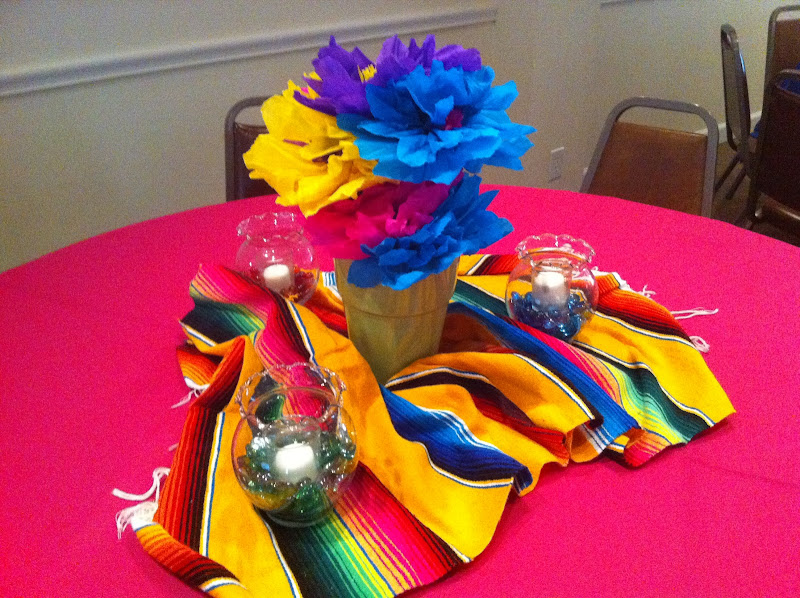 few quick ideas to add more mexican flare to your table/party : title=
