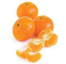 tangerines, oranges