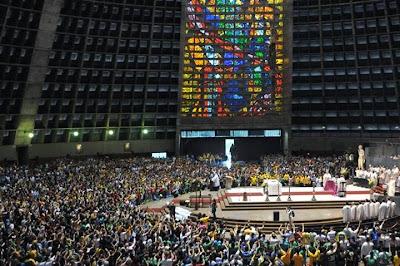 #JMJRio2013: Voluntários são acolhidos no Rio de Janeiro