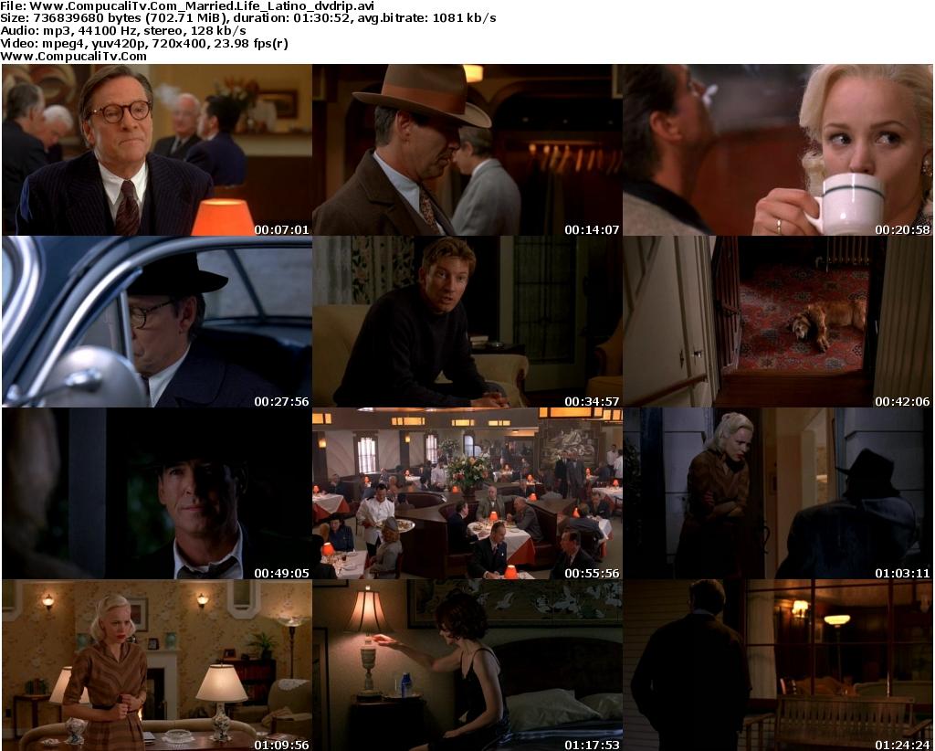 Infieles [Married Life] DVDRip [Español Latino] Descarga 1 Link [Ver Online]