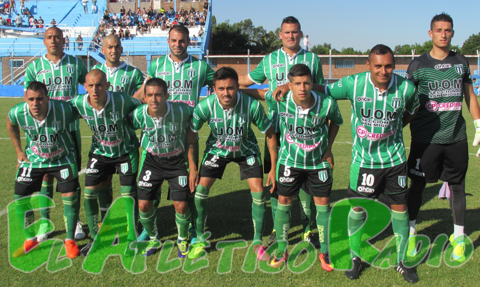 1 a 0 a JJ Urquiza. Fecha 6.