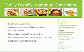 New Thrive Express- entrees, soups and sides