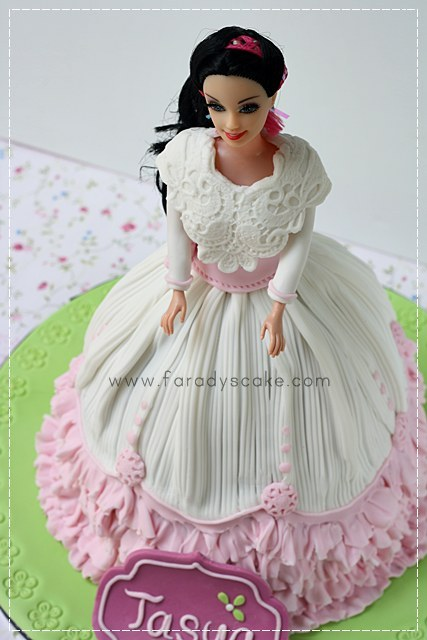 Belle Doll Cake Topper