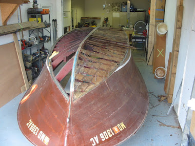 Before - 1954 Chris-Craft Holiday 20'