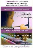 Charla sobre educación creadora