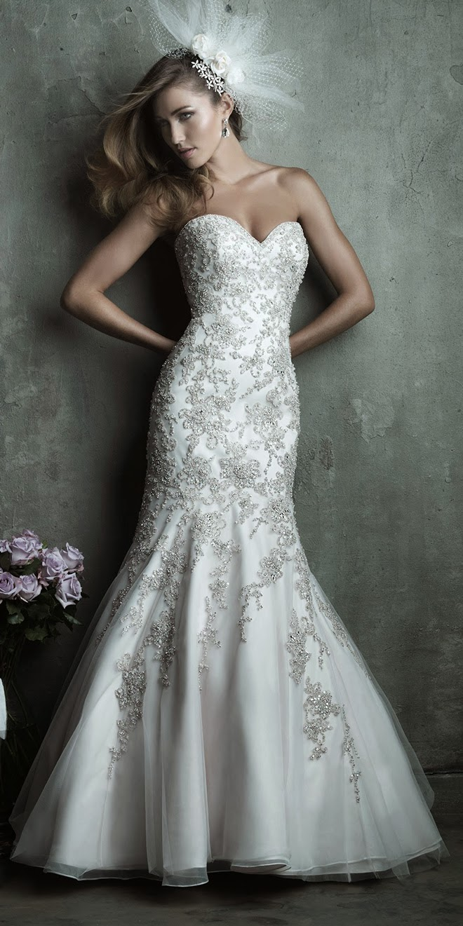 Wedding Dresses Fitted 76 New Dazzling Swarovski crystal embroidery