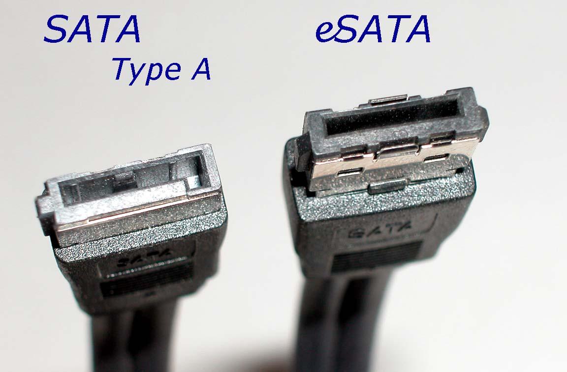 Cable SATA-eSATA