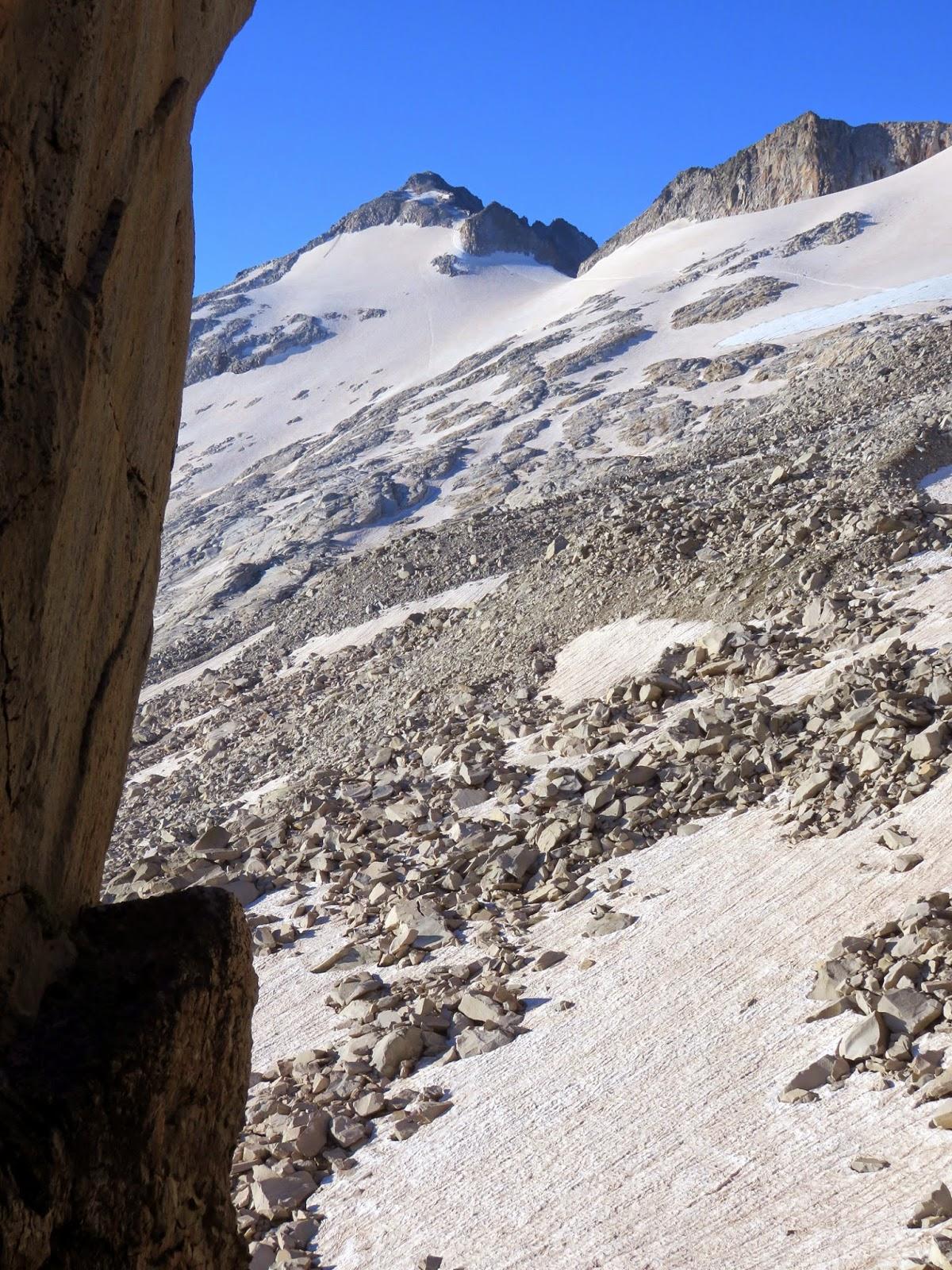 Vistas al pico Aneto des del Portillón Superior