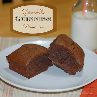 #ghirardelli #guinness #brownies #chocolate #stpatricksday