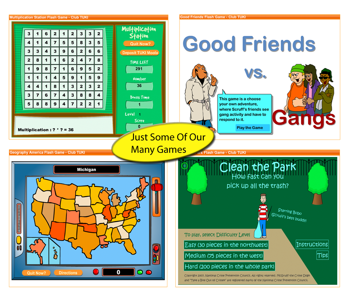 Educational games pictures