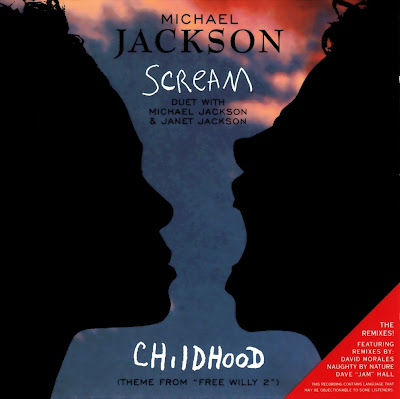 Michael Jackson Feat. Janet Jackson & Treach - Scream-(CDM)-1995