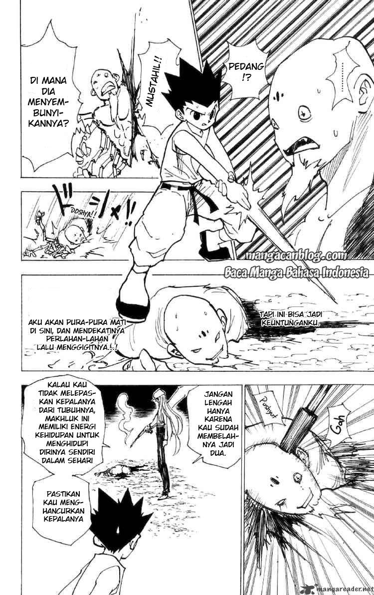 Dilarang COPAS - situs resmi www.mangacanblog.com - Komik hunter x hunter 193 - gunting 194 Indonesia hunter x hunter 193 - gunting Terbaru 13|Baca Manga Komik Indonesia|Mangacan