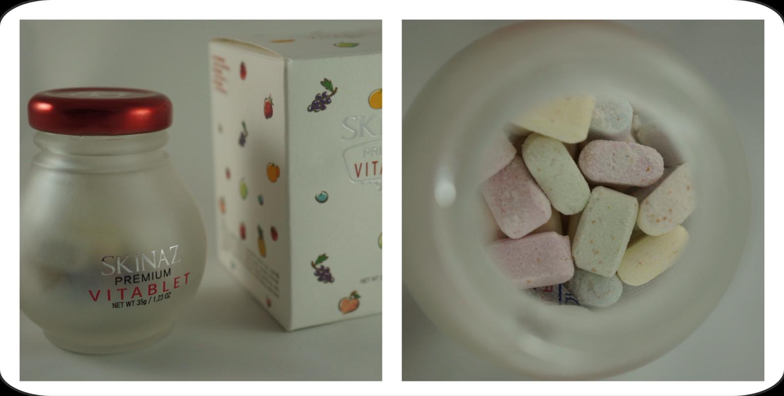 Memebox Special #16 OMG Box Unboxing Review SKINAZ Premium Vitatablet Vitamin Tablet