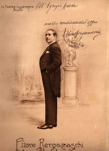 GREAT ITALIAN TENOR ETTORE BERGAMASCHI (1884 - 1975) 2 CD
