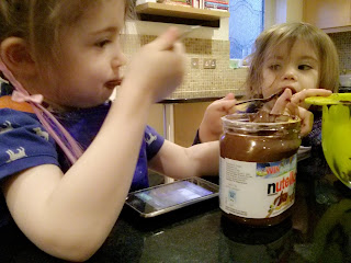 Baking with Nutella