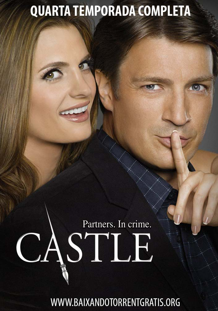 Castle 4ª Temporada Torrent - BluRay 720p Dublado