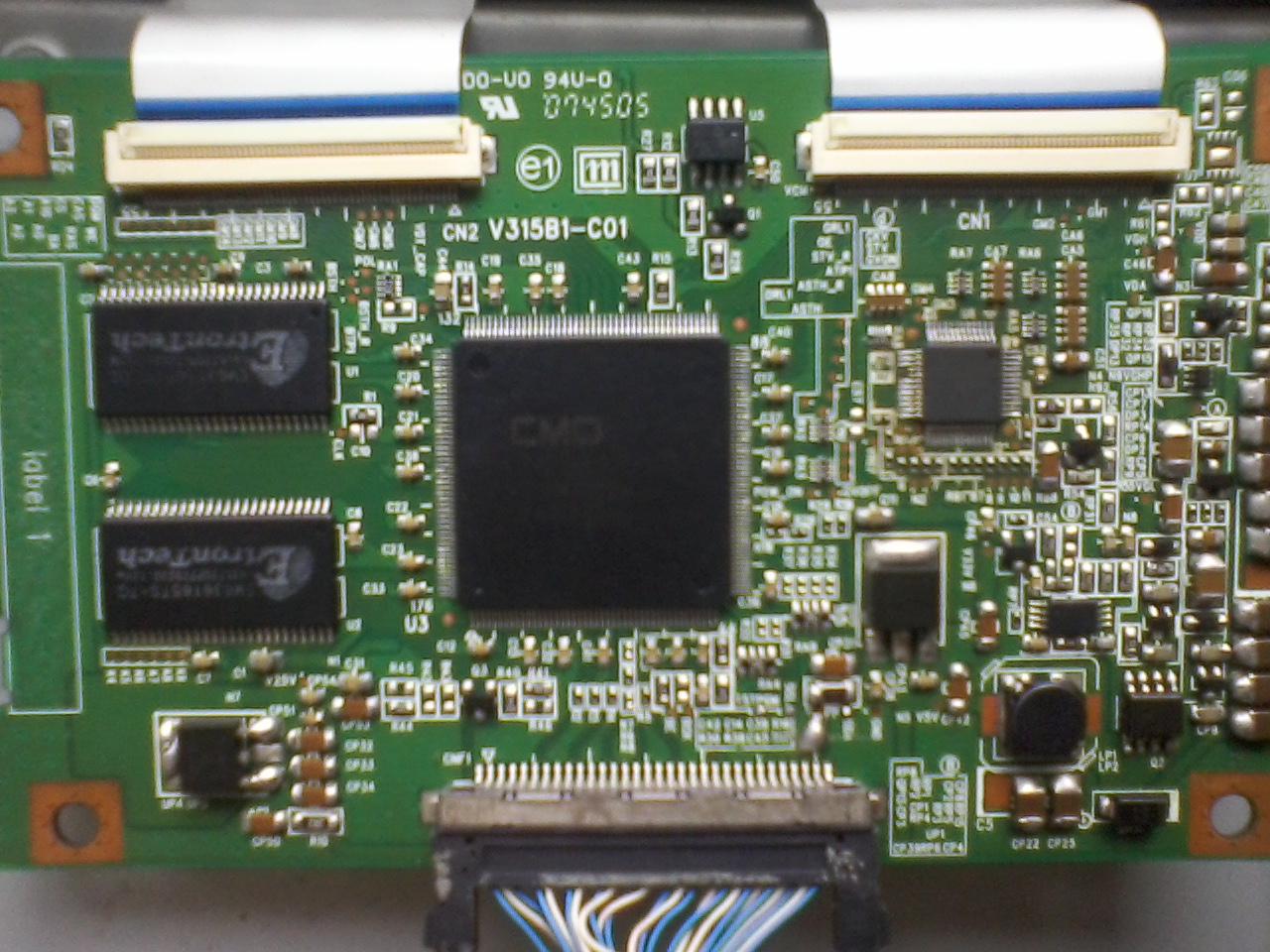 servis elektronik : t-con tv lcd samsug yang sering rusak