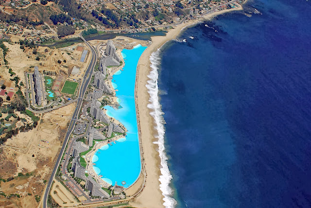 World 39 s largest swimming pool unbelievable info for Largest swimming pool in the us