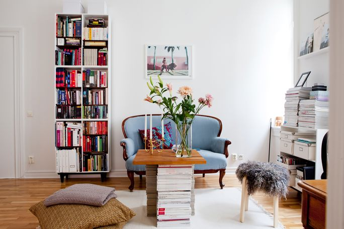 Decor inspiration cozy small space cool chic style fashion - Small space inspiration image ...