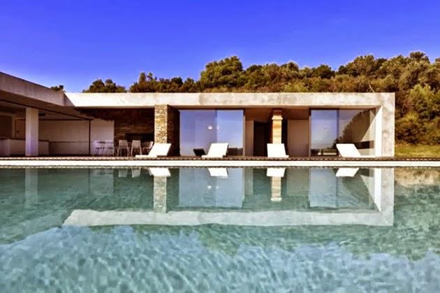 Plane House arquitectura en Grecia 4