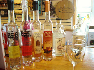 Distilled treats at Montezuma Winery