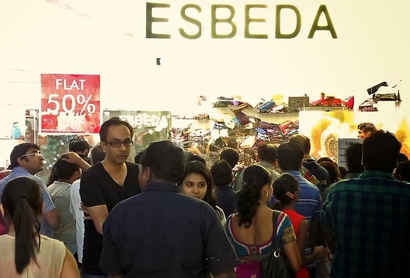 Sale season in India