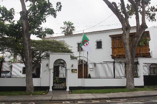 Embajada de Argelia en Lima