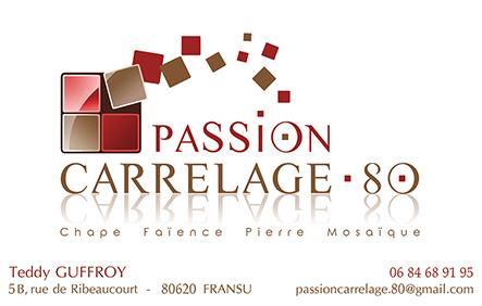 Fr d ric desbois passion carrelage 80 for Passion carrelage