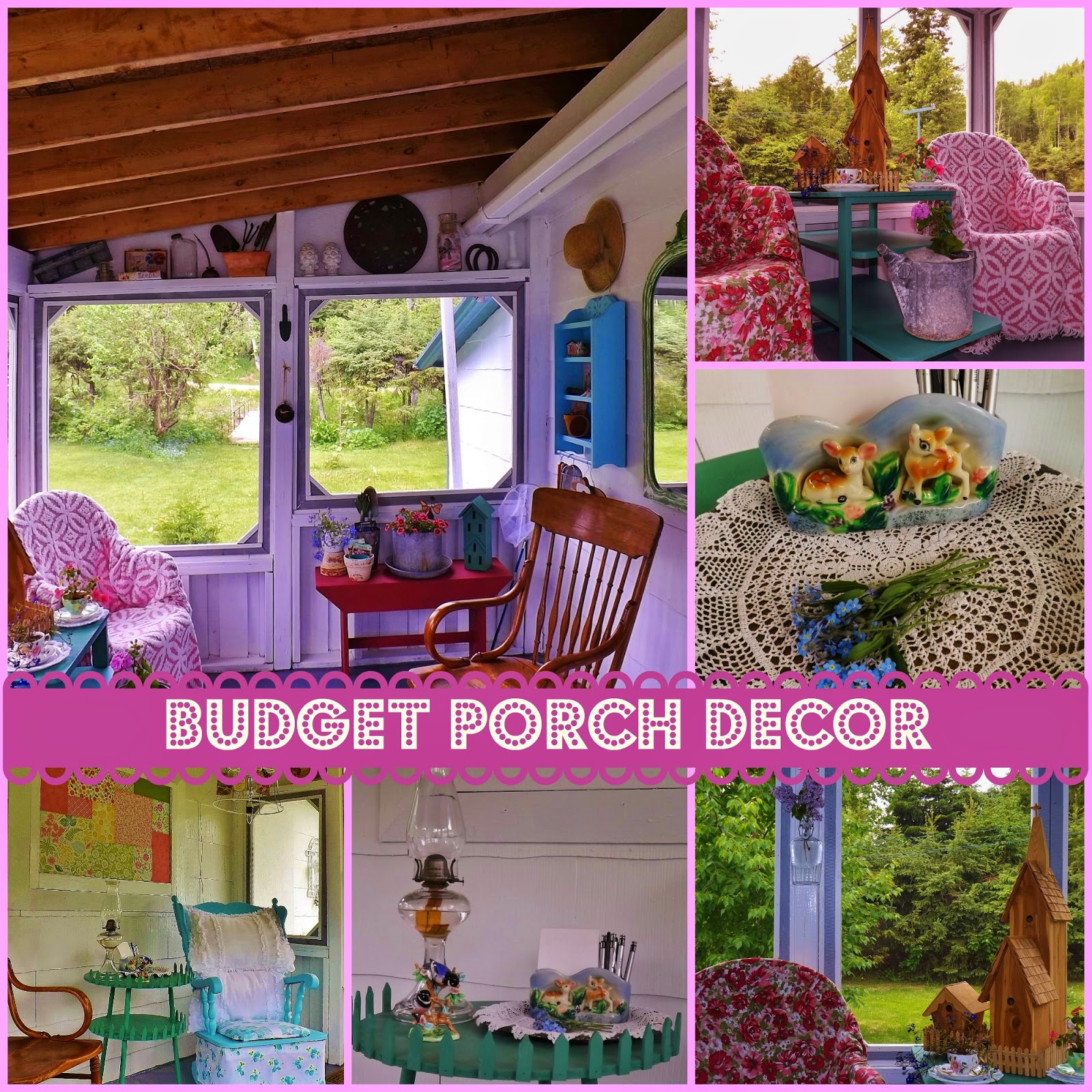 Porch Decorating Ideas On A Budget Outdoor Rooms On A Budget